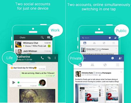 Using Multiple Social Media On Single Phone