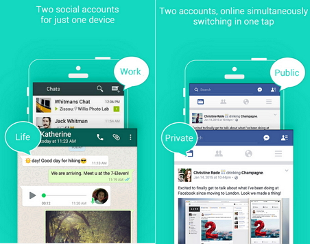 Using Multiple Social Media On Single Phone