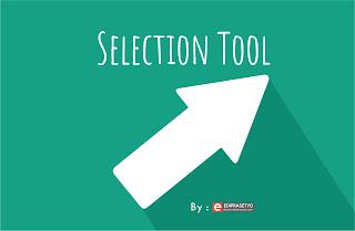 Fungsi Selection Tool pada Program desain grafis Adobe Illustrator