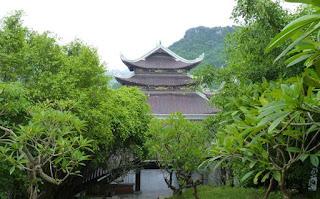 La Pagoda Bai Dinh. Phap Chu Temple.