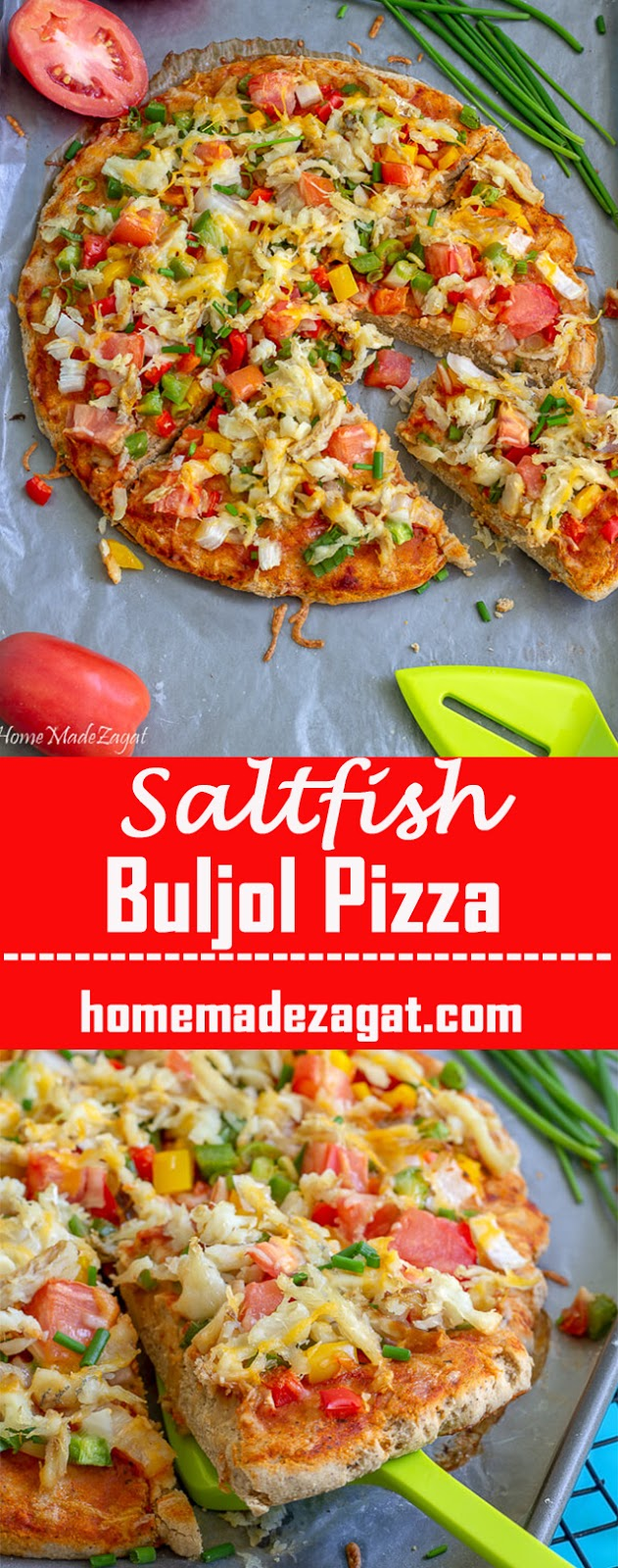Saltfish Pizza