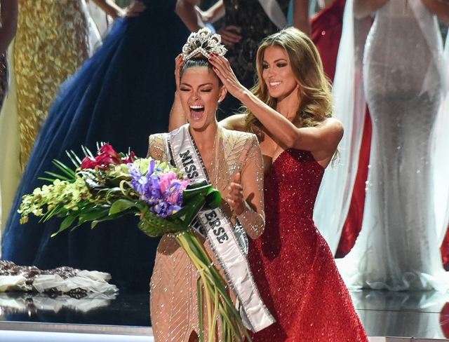 Demi-Leigh Nel-Peters, Miss Universe 2017 (AFP)