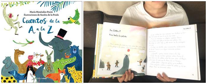 libros infantiles en letra ligada aprender a leer, Cuentos de la A a la Z