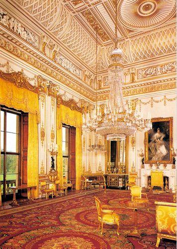 Take a Sneak Peek at Buckingham Palace's Opulent Rooms
