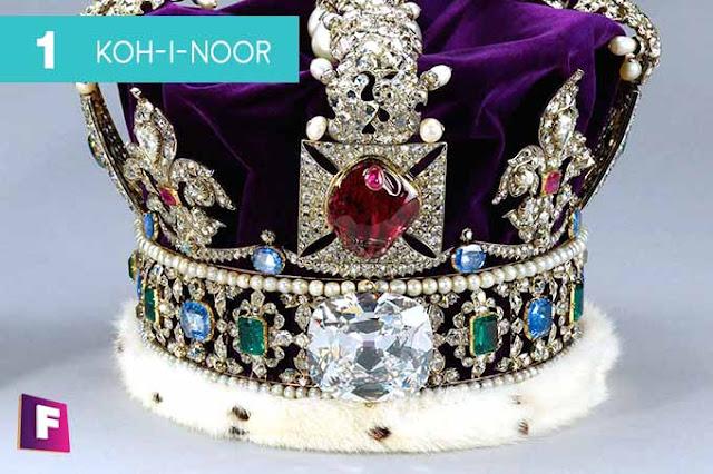 diamantes mas caros del mundo 2017 | puesto 1 kohinoor diamond - foro de minerales