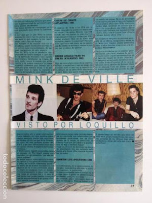 Willy Deville por Loquillo