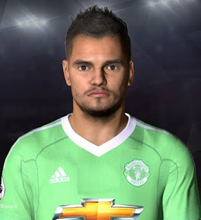 PES 2017 Faces Sergio Romero by Facemaker Ahmed El Shenawy
