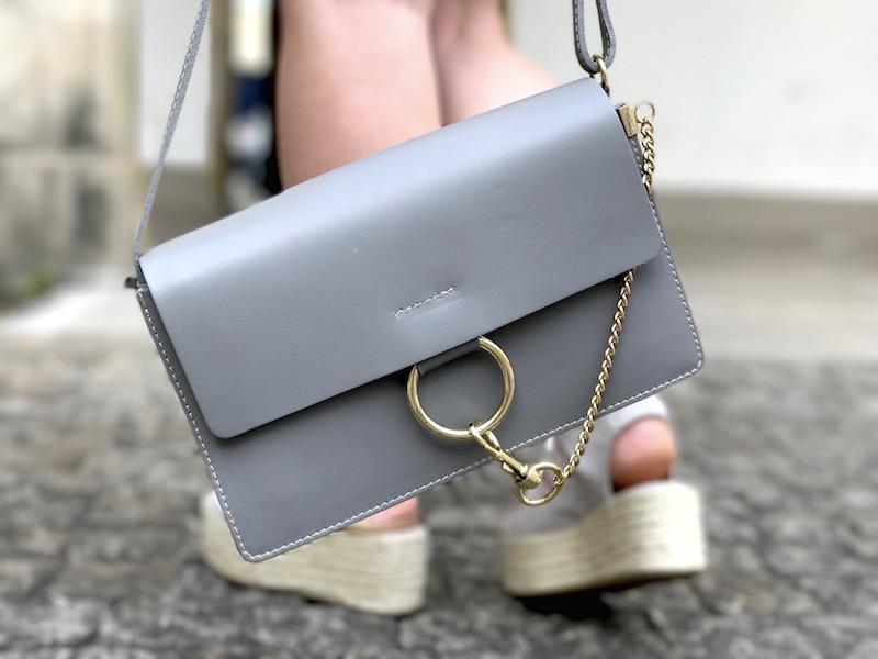 like sac Chloé gris
