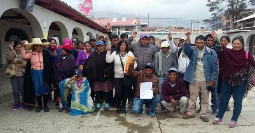 Padres de familia exigen docentes para colegio de Cochorco, en la Provincia de Sánchez Carrión - La Libertad