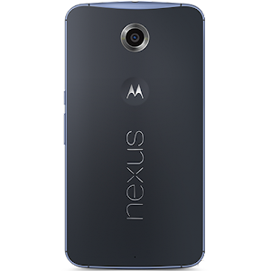 Google Nexus 6 (rear)