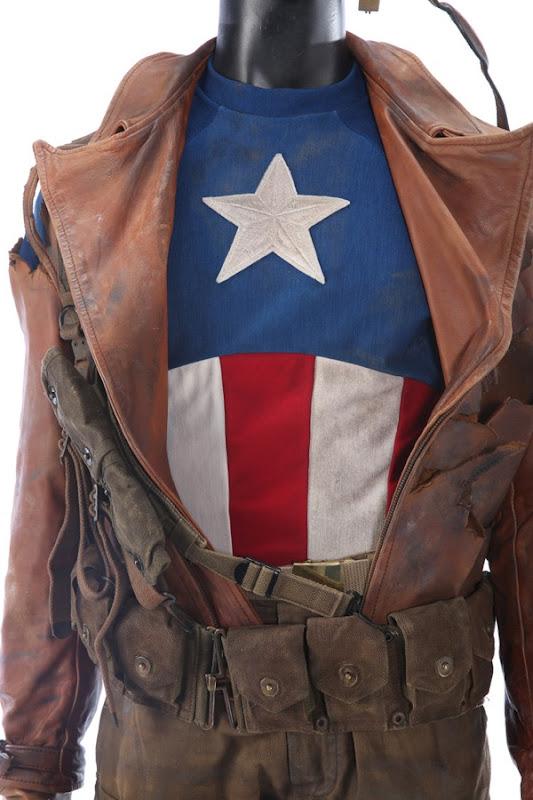 Chris Evans Captain America First Avenger WWII costume