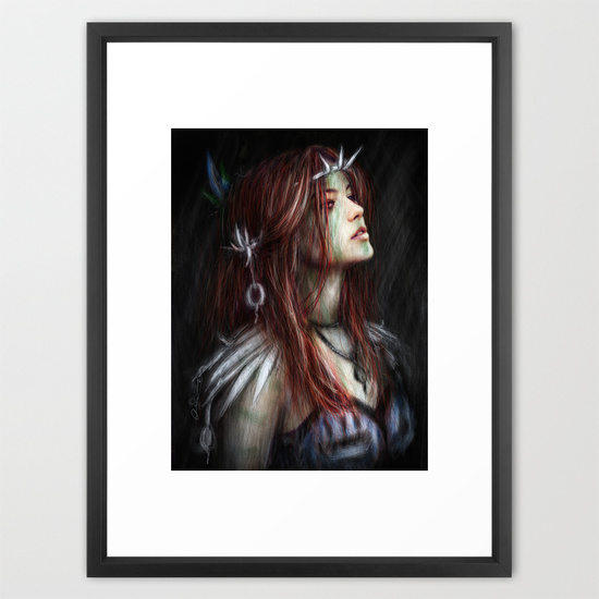 Framed prints from Society6 by Justin Gedak