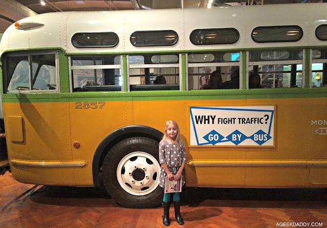 Rosa Parks Bus