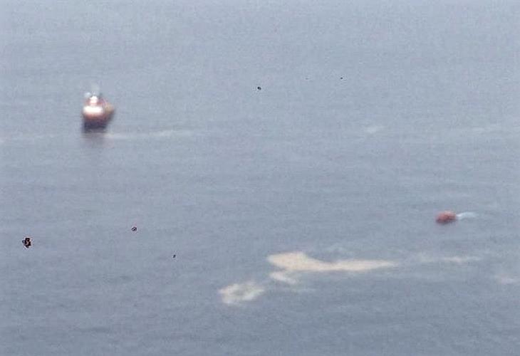 Lion Air JT-610 Crash Site, Its About 100 Feet Depth