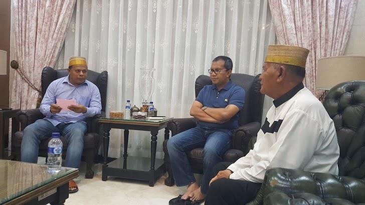 Kompol Amran Allo Baji, Berharap Warga Borongjatia Hadiri Peletakan Batu Pertama Pembangunan Masjid