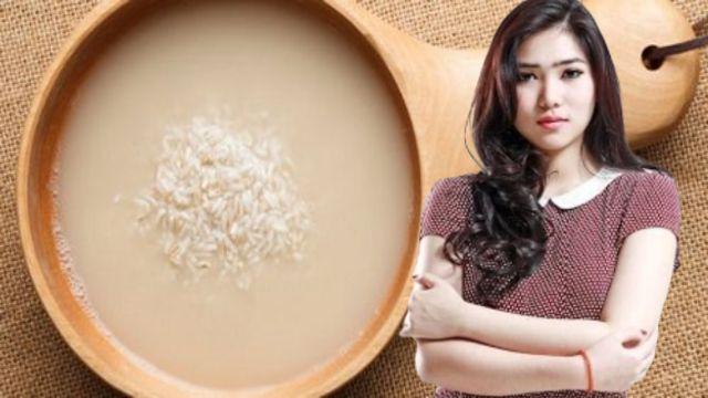 Cara memutihkan badan secara alami dengan air cucian beras