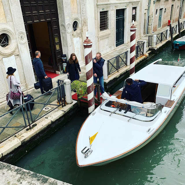 water taxi, Venice 2019
