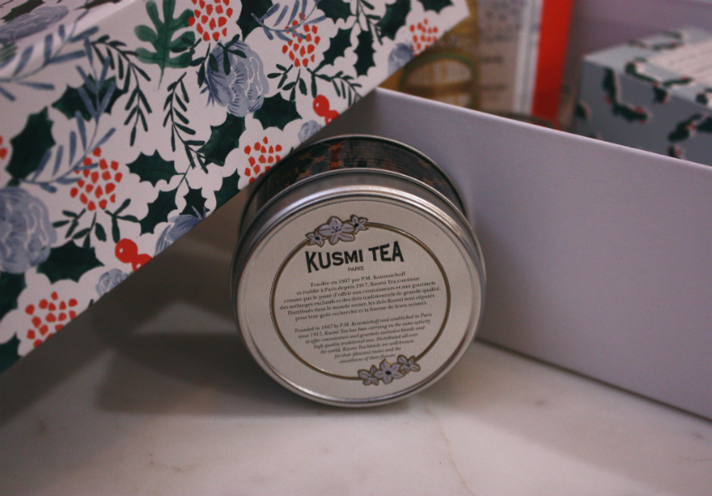 My Little Box December Christmas Edition Kusmi Tea