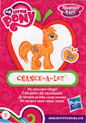 My Little Pony Wave 14 Chance-A-Lot Blind Bag Card