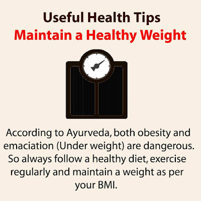 Health Tips - Maintain a Healthy Weight