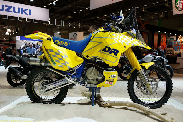 Suzuki DR-Z Dakar Rally Race Bike