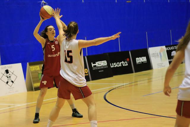 Baloncesto | El Ausarta Barakaldo EST afronta una difícil salida a la cancha del Leioa