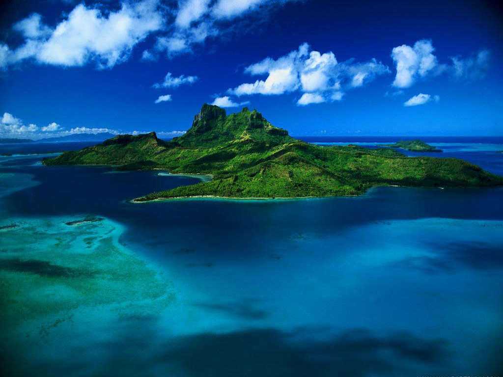 Geographic Adventure in Tahiti