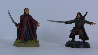 Elrond and Aragorn