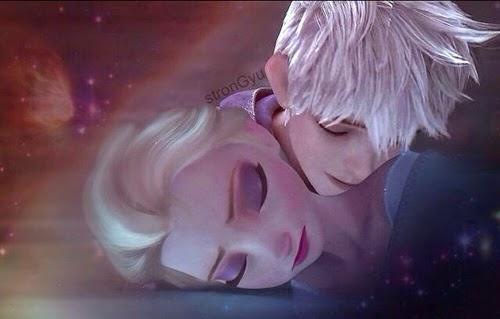 Gambar kartun Elsa Frozen tidur