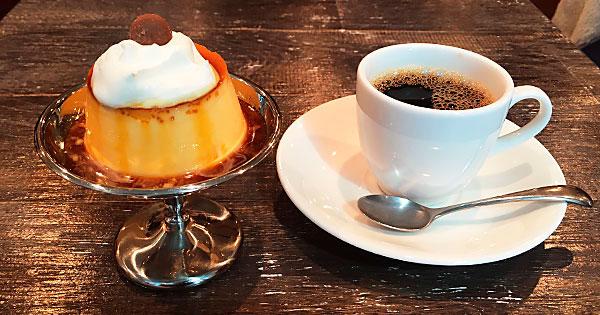 新宿の健康プラザハイジアビル4階にある本格和食カフェ『No.13cafe(サーティーンカフェ)』の鶏卵プリン
