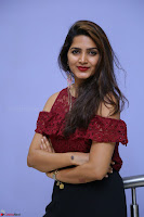 Pavani Gangireddy in Cute Black Skirt Maroon Top at 9 Movie Teaser Launch 5th May 2017  Exclusive 041.JPG