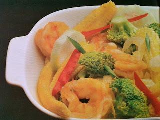 Gambar Resep Cah Udang Brokoli