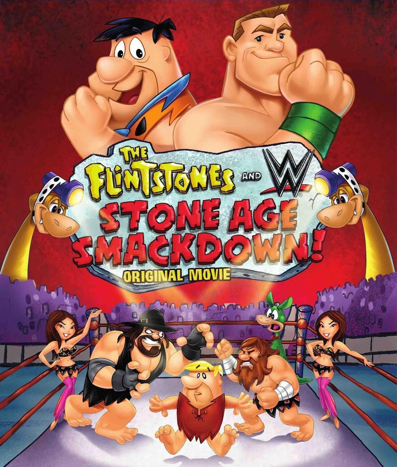 Os Flintstones e as Estrelas do WWE Torrent – Blu-ray Rip 720p Dublado (2015)
