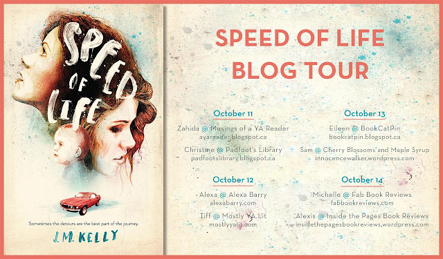 Speed of Life Blog Tour postcard