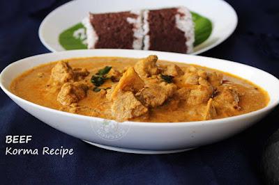 malabar beef korma beef kuruma ramadan special pathiri korma recipe tasty beef dishes