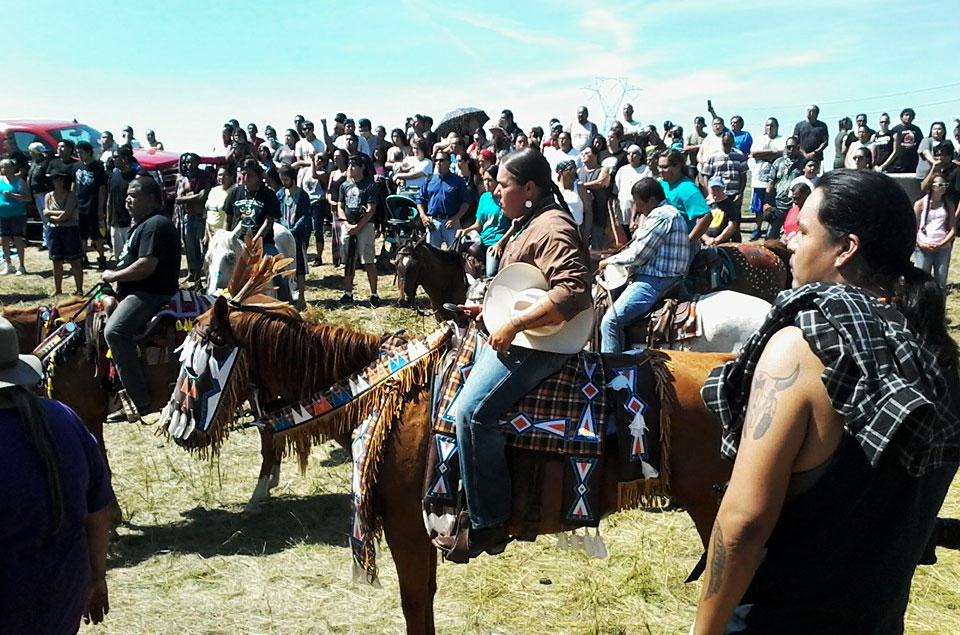 History In The Making: The Largest Native American Protest Is Currently Ongoing