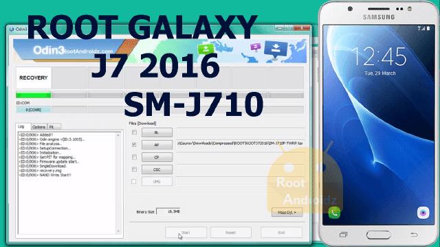 Root Galaxy J7 2016 SM-J710F