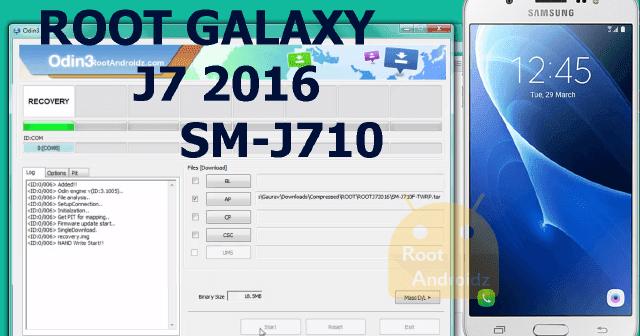 How to Root Galaxy J7 2016 SM-J710F | Root Galaxy J7 SM
