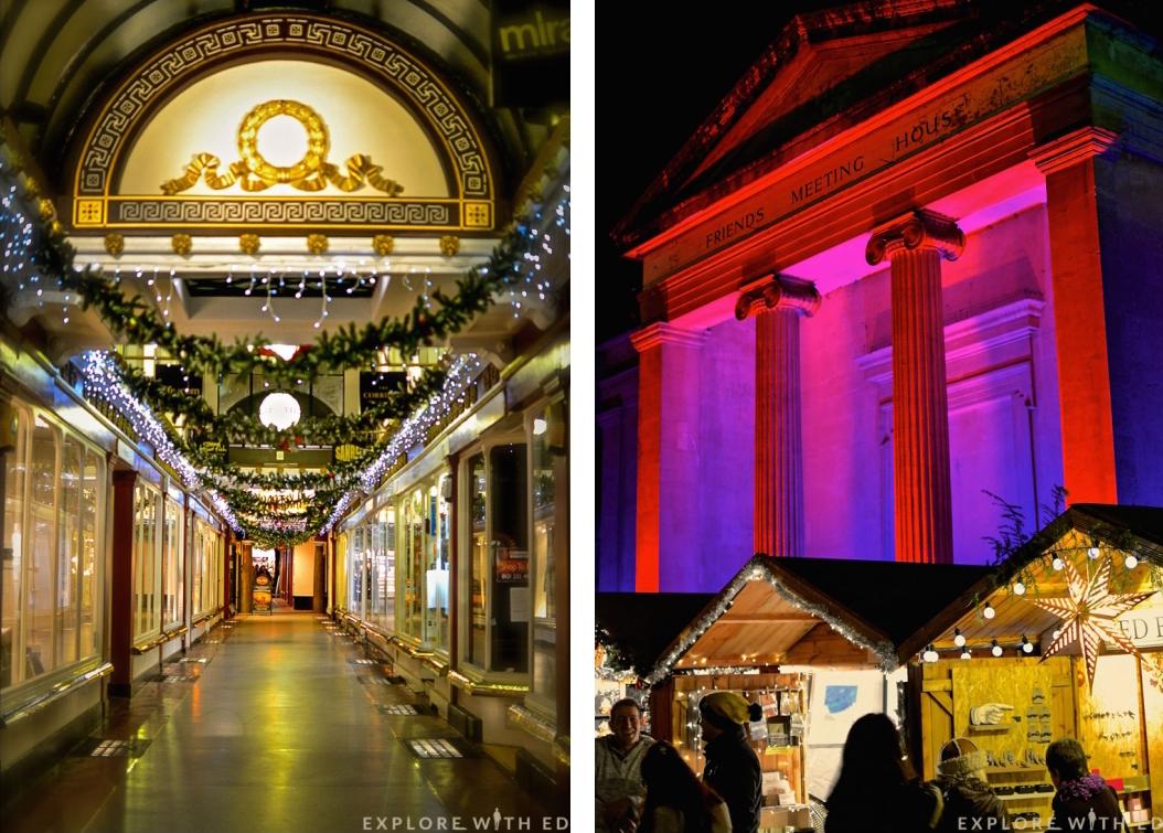 The Corridor, Bath Spa, Christmas Market