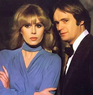 Joanna Lumley and David McCallum