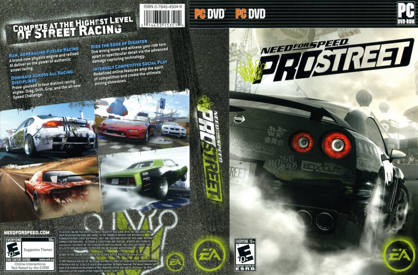 🔥 Need for Speed: ProStreet / Pro Street - PC Game Trainer
