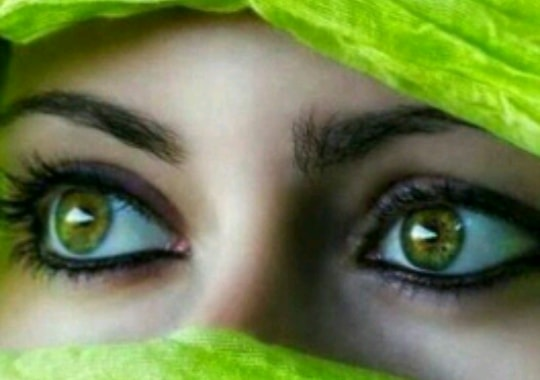 عيناك مرج أخضر