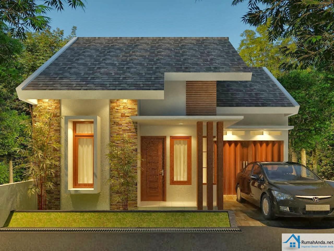 Desain Rumah Minimalis Modern 1 dan 2 Lantai 2017  Contoh Gambar Rumah
