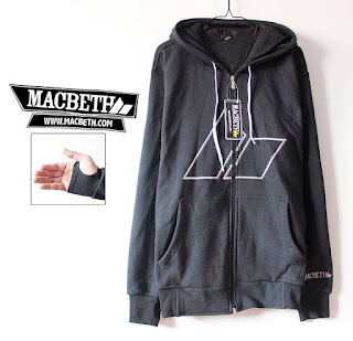 Jaket Fleece Hoodie Macbeth MAC008