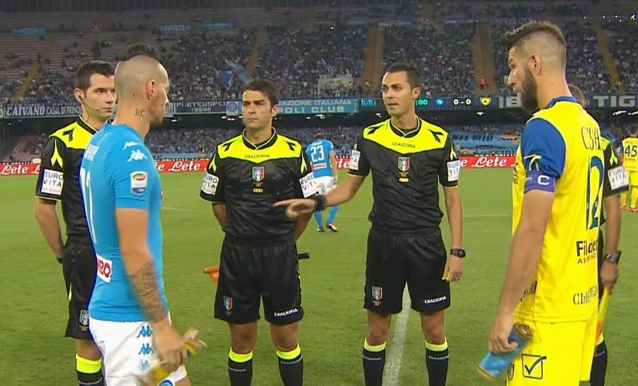 DIRETTA NAPOLI-Chievo Streaming Rojadirecta, come vederla Gratis Video Live.