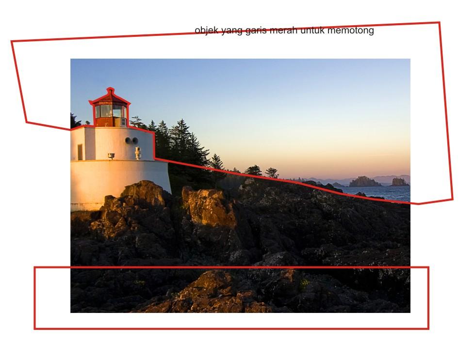 Cara Memotong Gambar Di Corel Draw