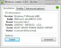 Mengaktifkan windows 7 permanent