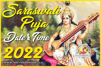 2022 Saraswati Puja Date & Time in West Bengal & India