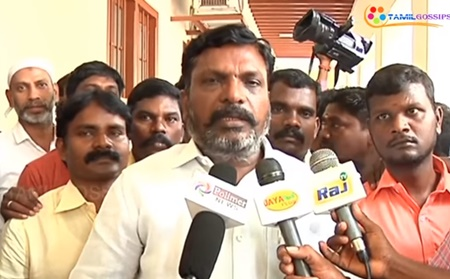 Thiruma press meet on Cauvery issue