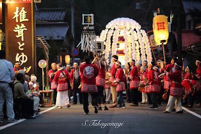 日本の風景 山梨 身延山 御会式 japan snapshot
